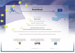 MathMods Joint Masters Degree Diploma 2018 small