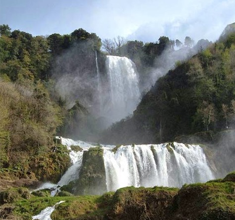 marmore waterfalls