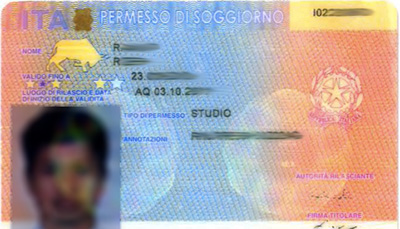 mathmods italian residence permit stay
